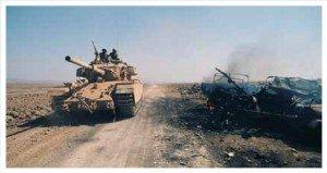 Israeli tank on the Golan Heights (Photo - Flikr, CIA)